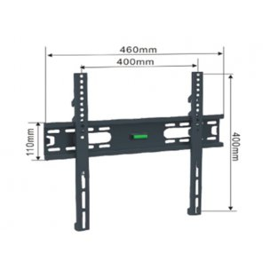 Alpha Support Fix 3255 nosac za TV 32- 55,do 50kg, crn