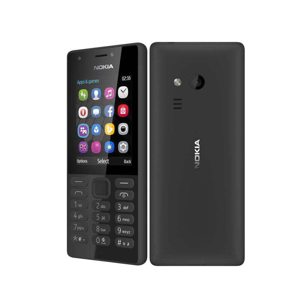 Nokia 216 DS Black Dual Sim