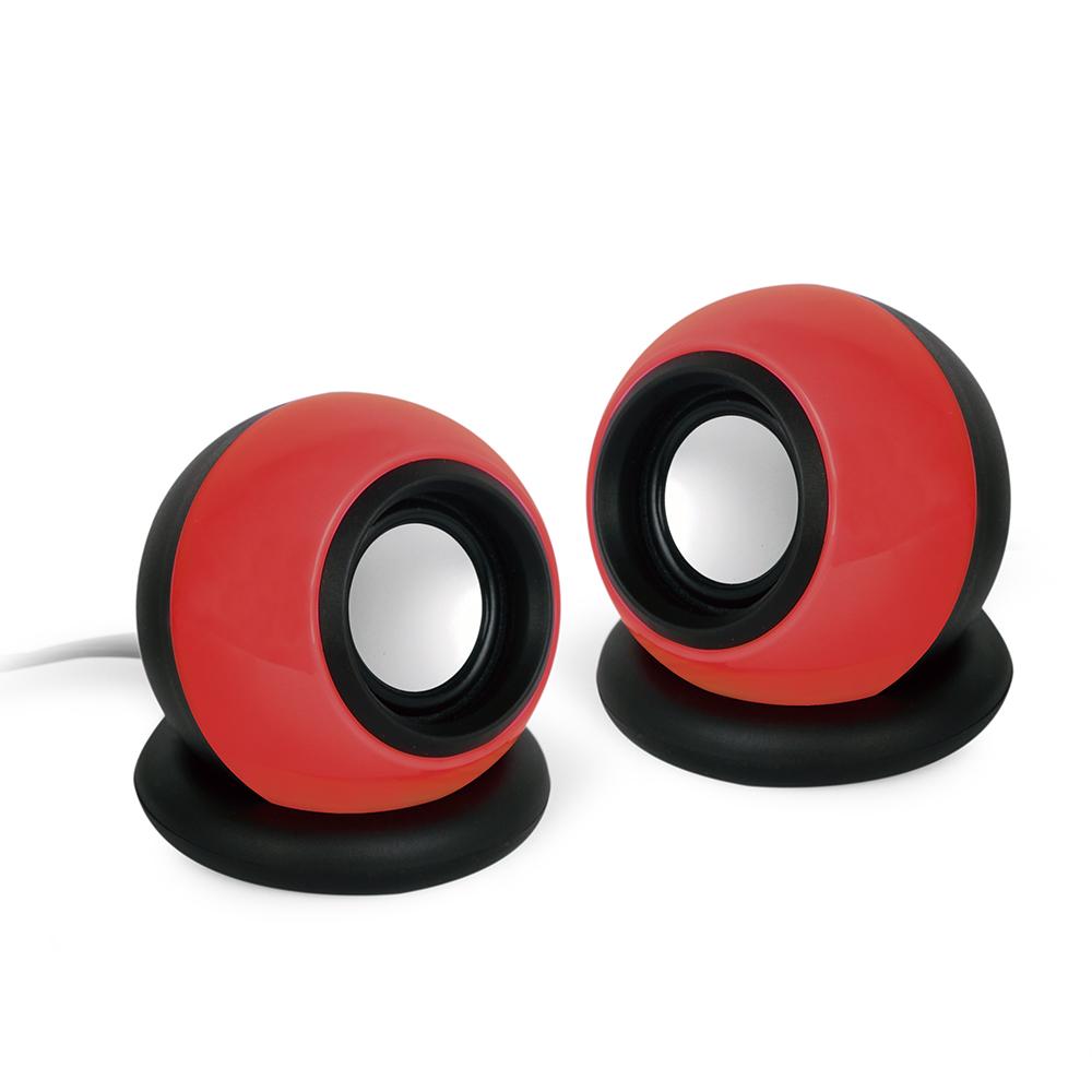 GEMBIRD SPK-AC-R Stereo zvucnici CRVENI