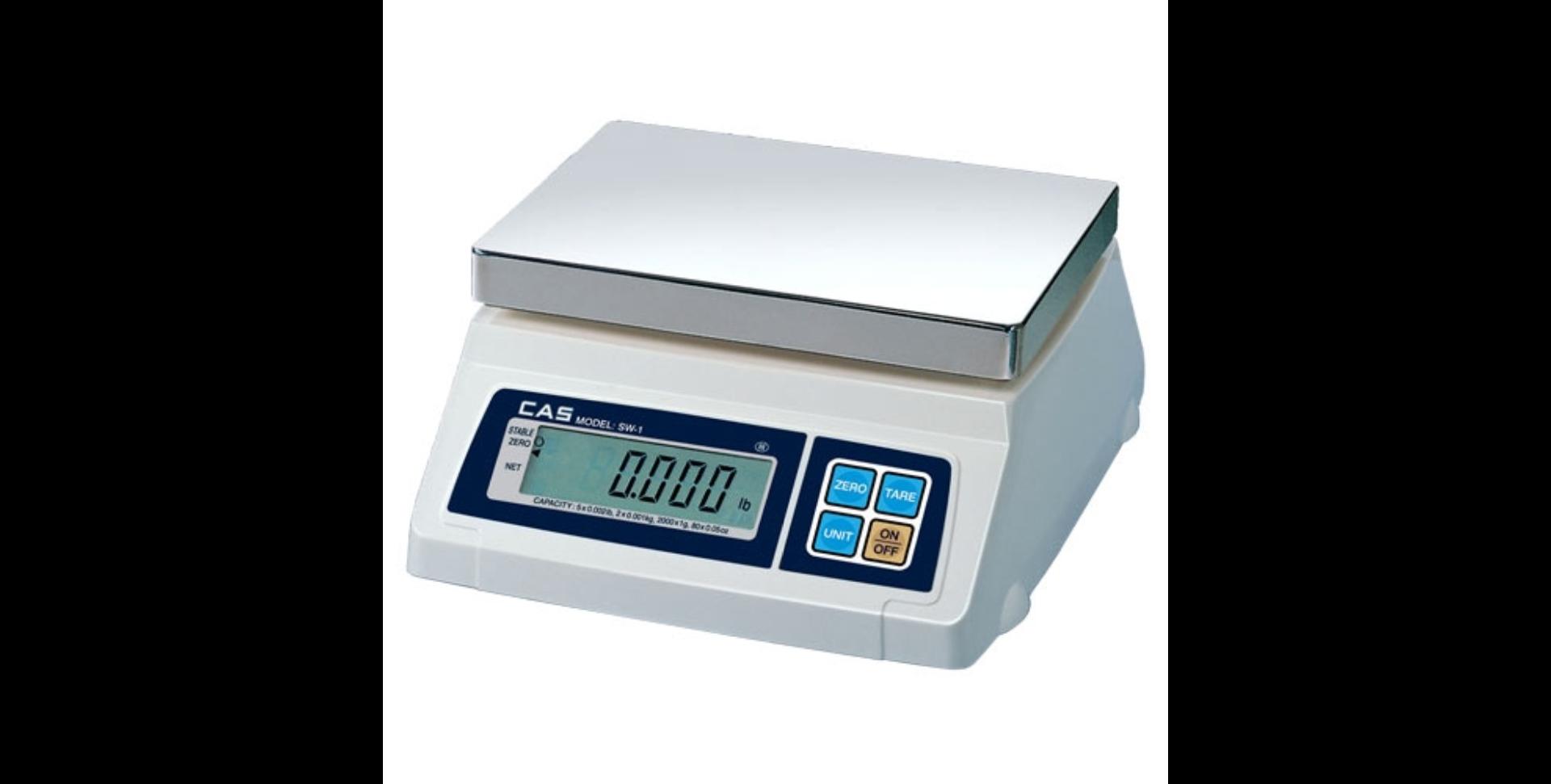 CAS elektronska trgovačka vaga SW-1S 1-2kg