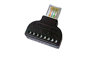 Avicom RJ45A na šraf za lakšu konekciju na STK204LL
