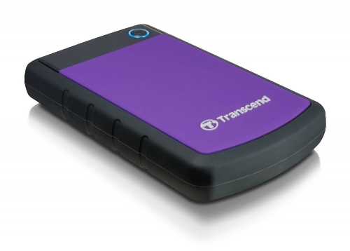 External HDD 1TB, H3P Series, USB3.0, 2.5, Anti-shock system, Backup software, 256 gr, Black/Purp