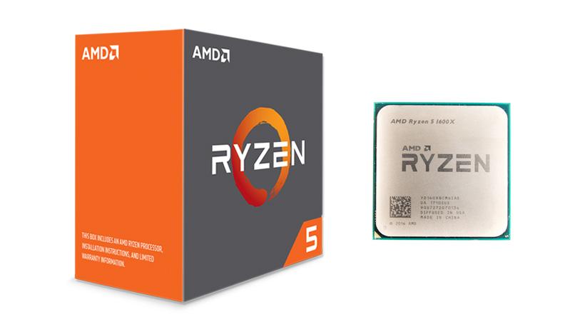 AMD Ryzen 5 1600x 6 cores 3.6GHz (4.0GHz) Box