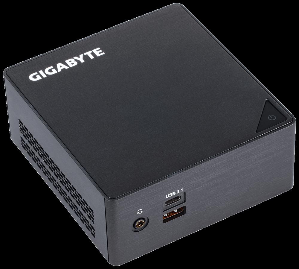 GIGABYTE GB-BKi3HA-7100 BRIX Mini PC Intel Core i3-7100U 2.4GHz