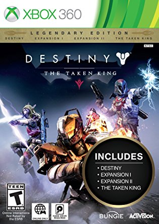 Activision Blizzard XBOX360 Destiny The Taken King Legendary Edition