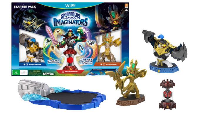 WiiU Skylanders Imaginators Starter Pack