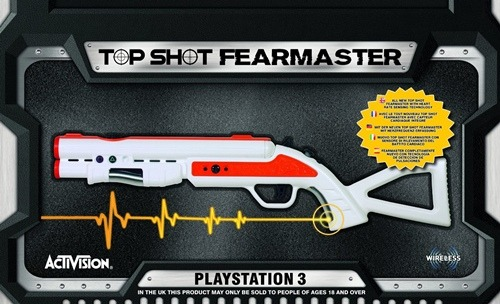 Activision Blizzard PS3 Top Shot Fear Mast Gun
