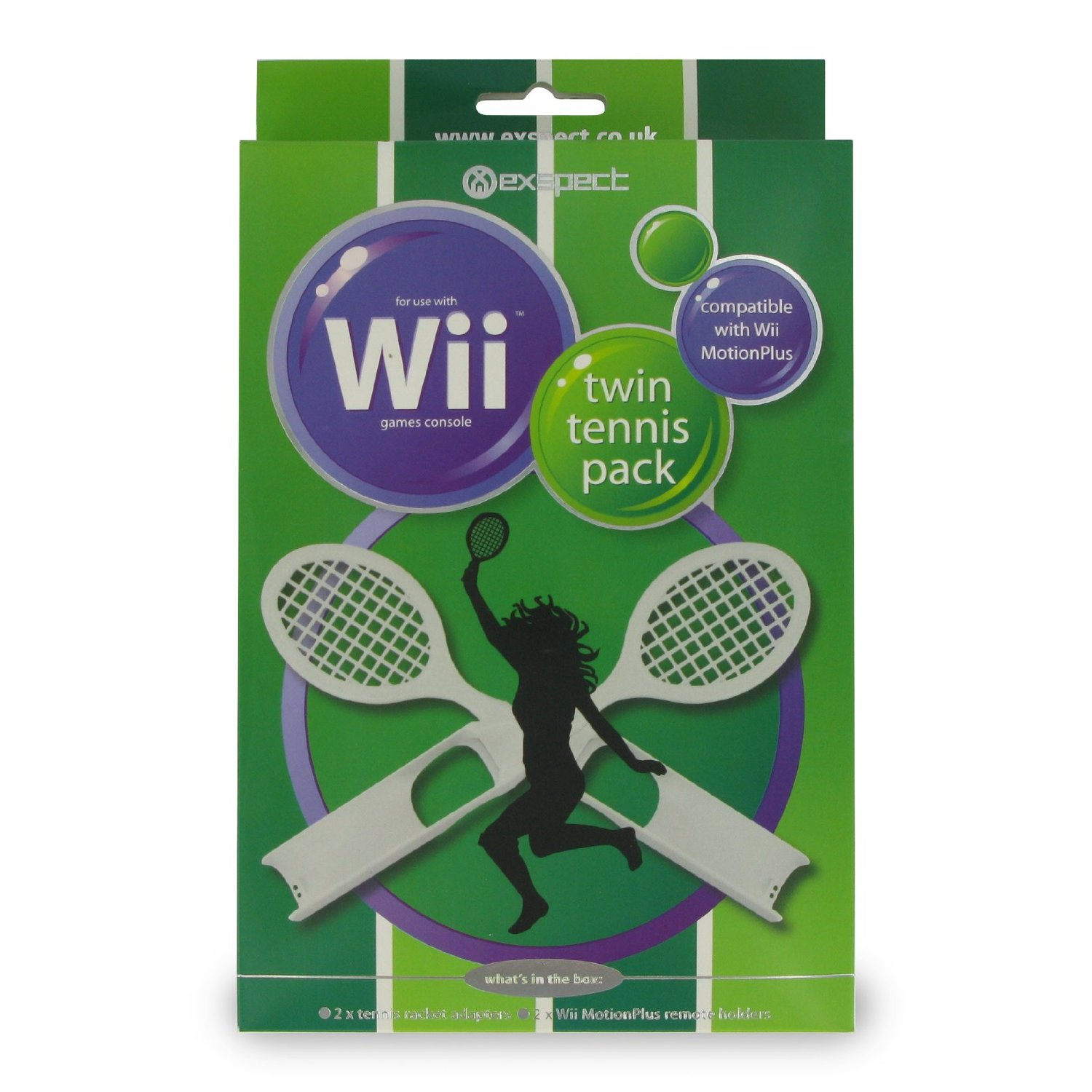 Exspect Wii MotionPlus Twin Tennis Pack
