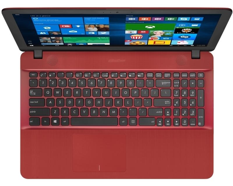 Asus X541NA-GO134 15.6 Intel Celeron N3350 4GB 500GB Intel HD Red