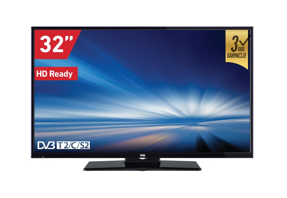 VOX 32 32DIS289B LED TV