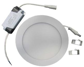 ELIT+ ELS00884 LED panel 12W okrugli ugradni beli
