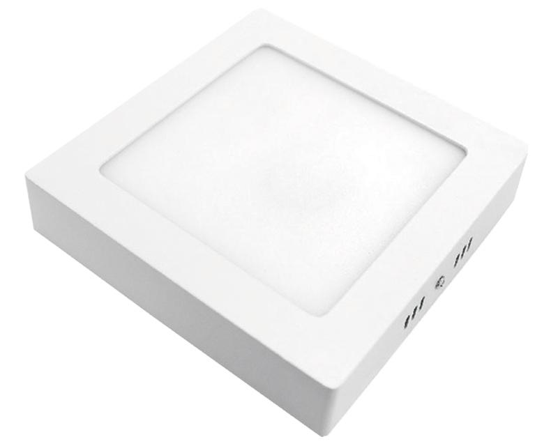 ELIT+ ELS00855 LED panel nadgradni 12W četvrtasti beli