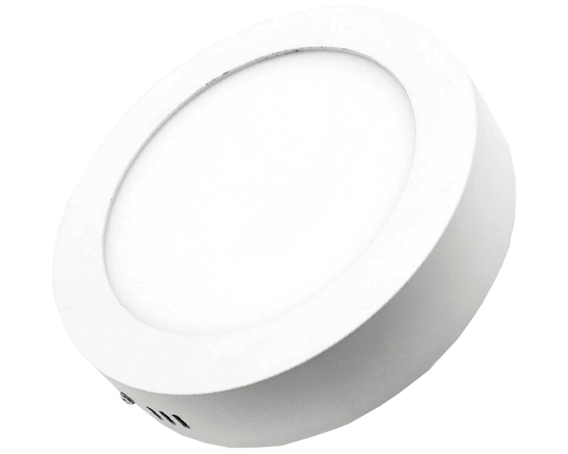 ELIT+ ELS0081 LED panel nadgradni 12W okrugli beli
