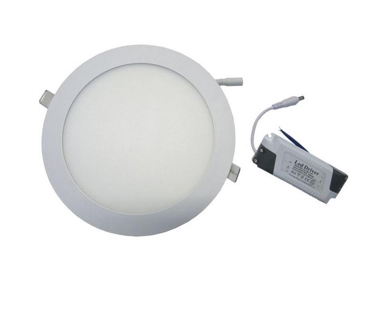 ELIT+ ELS0090 LED panel 18W okrugli ugradni beli