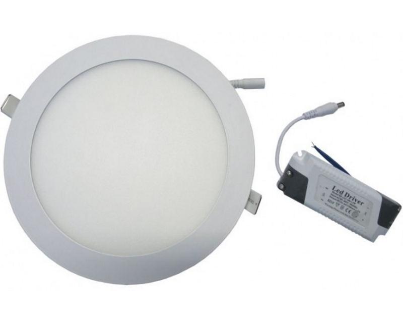 ELIT+ ELS0093 LED panel 24W okrugli ugradni beli