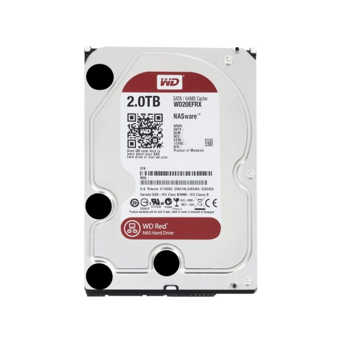 WD 2TB WD20EFRX SATA3 64 MB Intellipower