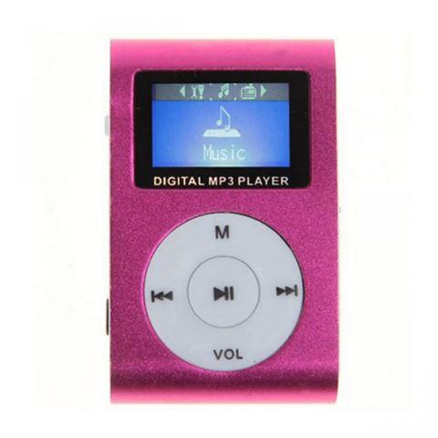 MP3 Player GMP-13 FMLCD Pink