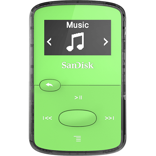 SanDisk MP3 Clip Jam 8GB zeleni MP3