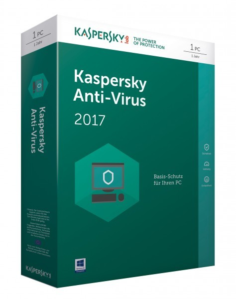 Anti-virus Kaspersky 1u 1g