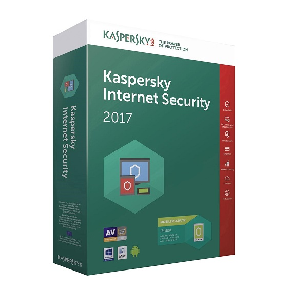 Anti-virus Kaspersky Int.Security 2u 1g
