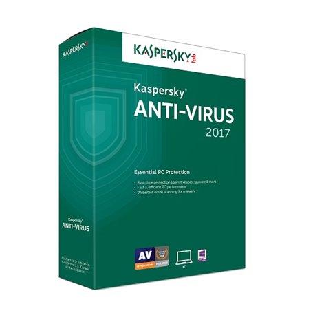 Anti-virus Kaspersky 5u 1g