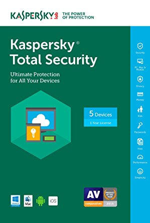 Anti-virus Kaspersky Tot.Security 5u 1g