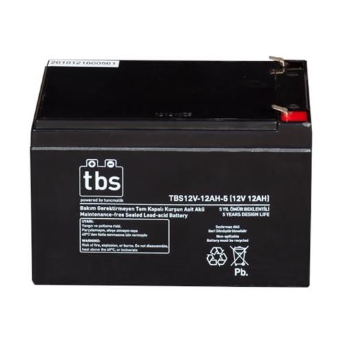 UPS Battery Tuncmatik TBS 12V-12ah-5