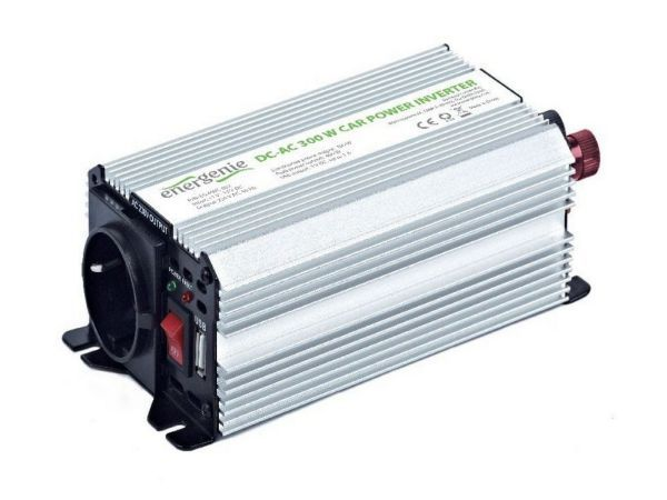 GEMBIRD EG-PWC-032 Auto inverter DC/AC 300W+USB port