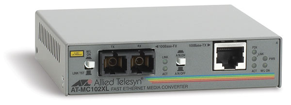 Allied Telesis Media Converter AT-MC102XL-20