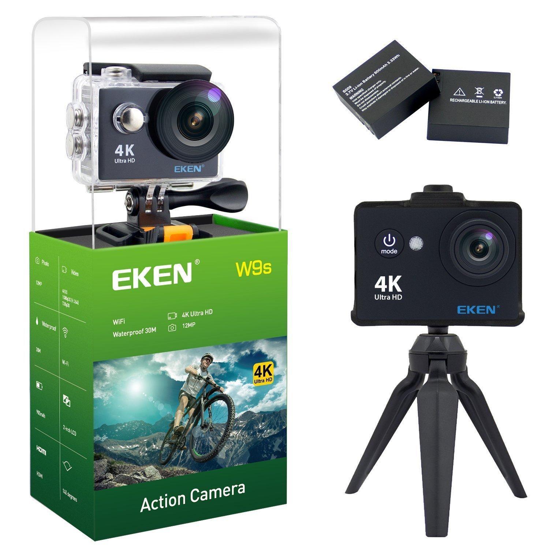 Eken W9s Action Camera Black