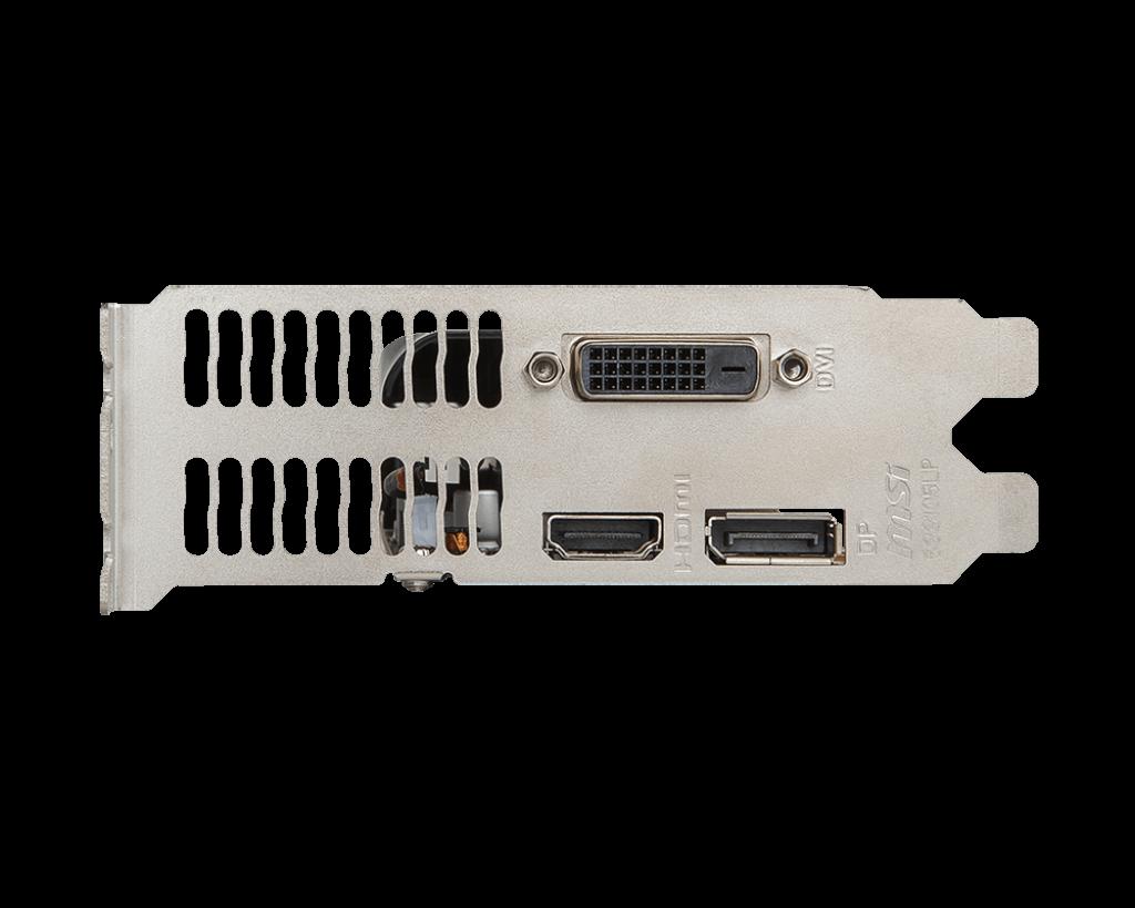 MSI nVidia GeForce GTX 1050 2GB 128bit GTX 1050 2GT LP