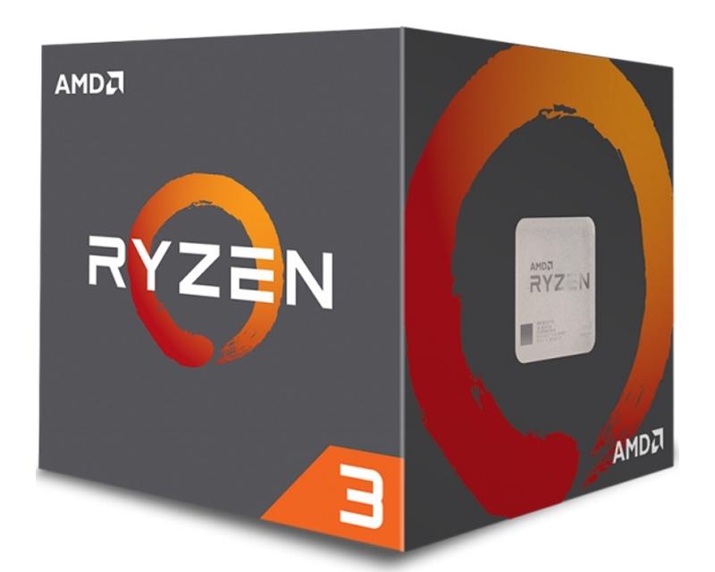 AMD Ryzen 3 1200 4 cores 3.1GHz (3.4GHz) Box