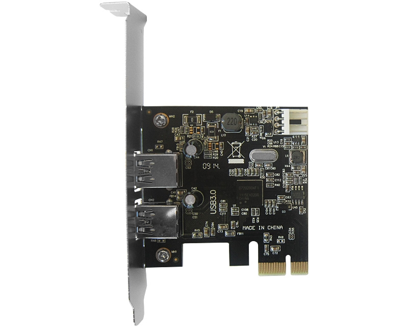 PCI Express kontroler 2xUSB 3.0