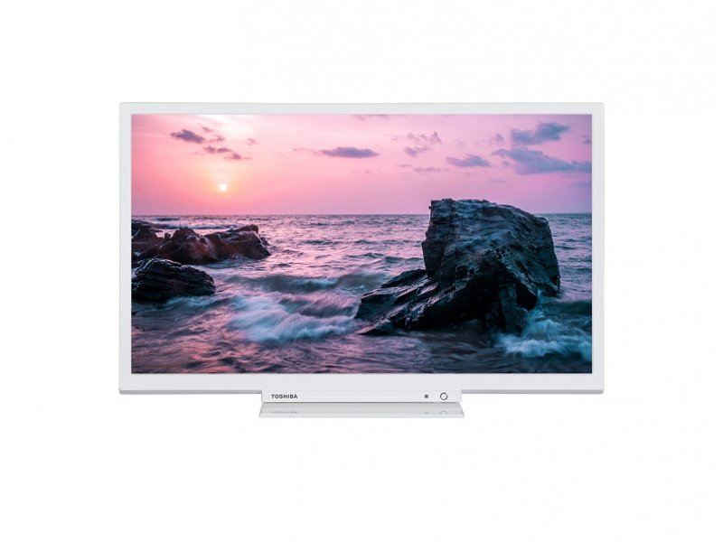 Toshiba 24 24W1764DG LED TV HD Ready DVB-T2 white
