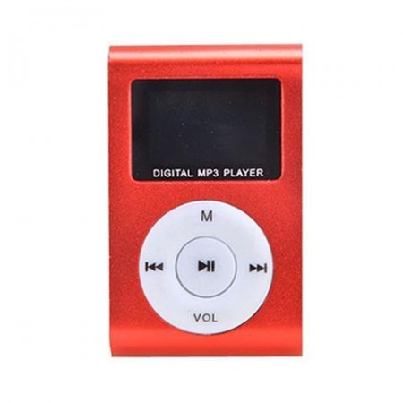 MP3 Player GMP-13 FMLCD Red