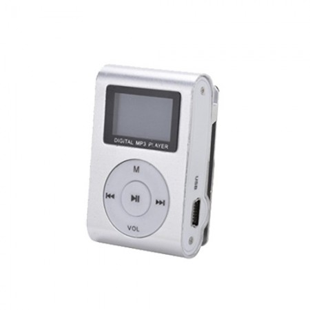MP3 Player GMP-13 FMLCD Silver