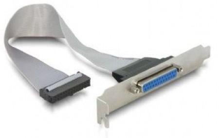 Gembird CC-DB25-RECEPTACLE LPT parallel port on bracket