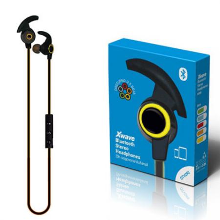 Xwave MX85 yellow BT stereo slusalice sa mikrofonom v4.2, Baterija 80mAh, 5sati razgovor, 10m udaljenost, Žuta