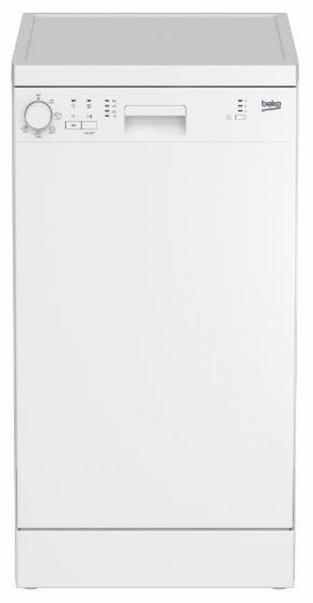Beko DFS 05013 W samostojeća mašina za pranje sudova za 10 kompleta 44,8 x 85 x 60 cm