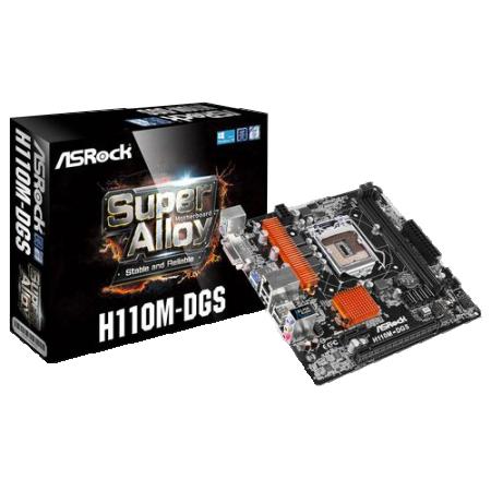 1151 ASRock H110M-DGS