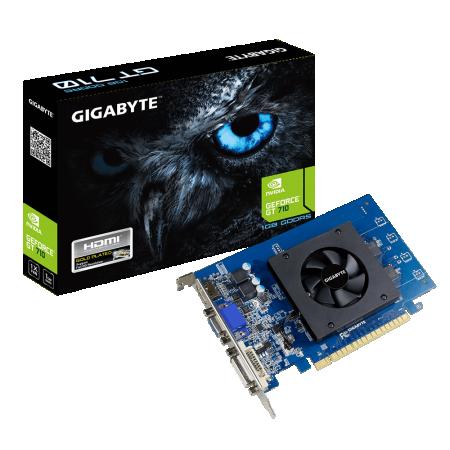 Gigabyte nVidia GT 710 1GB DDR5 64bit GV-N710D5-1GI