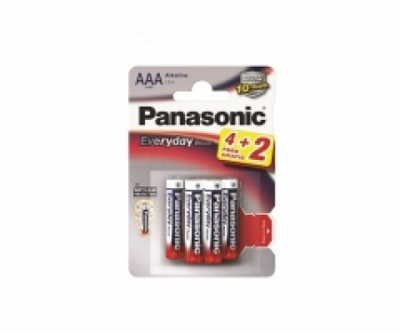 PANASONIC baterije LR03EPS/6BP -AAA 6kom Alkaline Everyday P