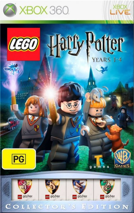XBOX360 Lego Harry Potter Years 1-4 collectors edition
