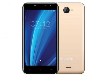 OUKITEL C9 5.0 Smart phone MT6580 1GB 8GB 8MP+2MP DualSIM Android 7.0 Zlatni