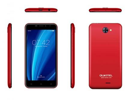 OUKITEL C9 5.0 Smart phone MT6580 1GB 8GB 8MP+2MP DualSIM Android 7.0 Crveni
