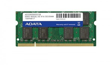 ADATA (AD2S800B2G6-B) 2GB 800MHz SO-DIMM Memorija