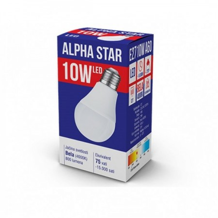 Alpha Star E27 LED Sijalica 10W