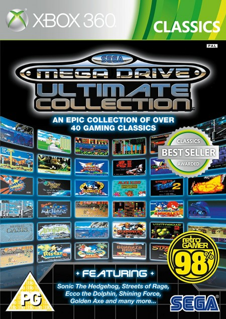 XBOX360 Sega Megadrive Ultimate Collection (  )