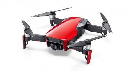 Dji (CP.PT.00000169.01) Mavic Air Fly More Combo, Flame Red