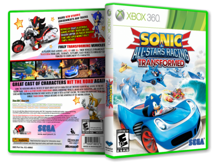 XBOX360 Sega & Sonic All Star Racing Transformed